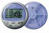 Casio - zegarek z alarmem na 5 pigulek