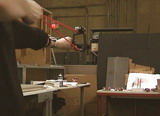 Proca z celownikiem laserowym